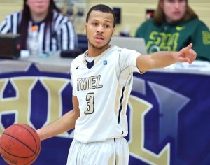 Thiel senior Khari Bess may be playing his best basketball at the right time.