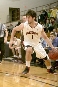 Nate Bellhy played two seasons at W&J.